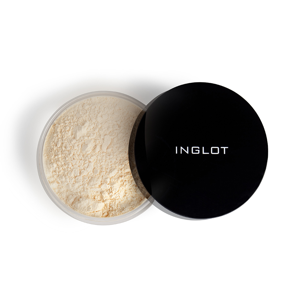 10.INGLOT HD illuminizing loose powder 43