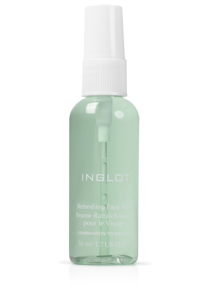 7.INGLOT refreshing face mist - combination to oily skin